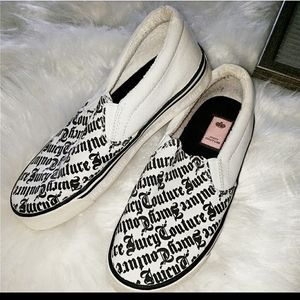 ☆Juicy Couture☆ Canvas Slip On Shoes